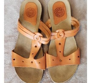 349529fbadb Leather Kickers Sandals made in Spain size 38
